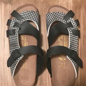 Beekenstock Papillio sandals women's ax 10